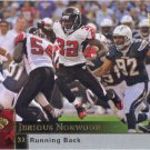Jerious Norwood 2009 Upper Deck #9 Atlanta Falcons Football Card