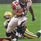Michael Turner 2009 Upper Deck #8 Atlanta Falcons Football Card