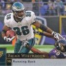 Brian Westbrook 2009 Upper Deck #143 Philadelphia Eagles Football Card