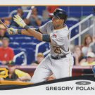 Gregory Polanco 2014 Topps Update Rookie #US-221 Pittsburgh Pirates Baseball Card