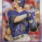 Troy Tulowitzki 2015 Topps #125 Colorado Rockies Baseball Card