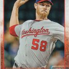 Doug Fister 2015 Topps #109 Washington Nationals Baseball Card