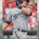 Scooter Gennett 2015 Topps #101 Milwaukee Brewers Baseball Card