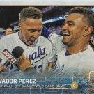 Salvador Perez 2015 Topps #210 Kansas City Royals Baseball Card
