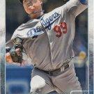 Hyun-Jin Ryu 2015 Topps #238 Los Angeles Dodgers Baseball Card