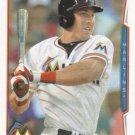 Brian Bogusevic 2014 Topps #524 Miami Marlins Baseball Card