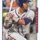 Emilio Bonifacio 2014 Topps Update #US-111 Atlanta Braves Baseball Card