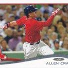 Allen Craig 2014 Topps Update #US-87 Boston Red Sox Baseball Card