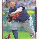 Kyle Crockett 2014 Topps Rookie #US-121 Cleveland Indians Baseball Card