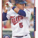 Eduardo Escobar 2014 Topps Update #US-257 Minnesota Twins Baseball Card