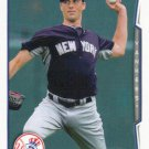 Jeff Francis 2014 Topps Update #US-114 New York Yankees Baseball Card