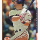 Brandon Hicks 2014 Topps Update #US-83 San Francisco Giants Baseball Card