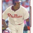 Ryan Howard 2014 Topps #105 Philadelphia Phillies Baseball Card