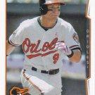 David Lough 2014 Topps Update #US-109 Baltimore Orioles Baseball Card