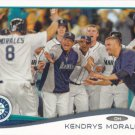 Kendrys Morales 2014 Topps #156 Seattle Mariners Baseball Card