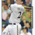 Lyle Overbay 2014 Topps Update #US-123 Milwaukee Brewers Baseball Card