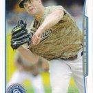 Clayton Richard 2014 Topps #186 San Diego Padres Baseball Card