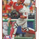 Carlos Ruiz 2014 Topps #182 Philadelphia Phillies Baseball Card