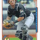 Jarrod Saltalamacchia 2014 Topps Update #US-70 Miami Marlins Baseball Card