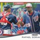 Rafael Soriano 2014 Topps #233 Washington Nationals Baseball Card