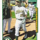 Chris Young 2014 Topps #311 Oakland Athletics Baseball Card