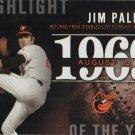 Jim Palmer 2015 Topps 'Highlight of the Year' #H-47 Baltimore Orioles Baseball Card