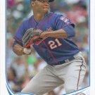 Samuel Deduno 2013 Topps Update #US113 Minnesota Twins Baseball Card