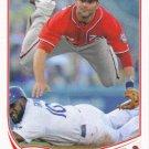 Danny Espinosa 2013 Topps #97 Washington Nationals Baseball Card