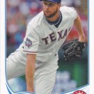 Scott Feldman 2013 Topps #39 Texas Rangers Baseball Card