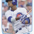 Junior Lake 2013 Topps Update Rookie #US21 Chicago Cubs Baseball Card