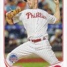 Cliff Lee 2013 Topps Update #US188 Philadelphia Phillies Baseball Card