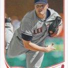 Vinnie Pestano 2013 Topps #426 Cleveland Indians Baseball Card