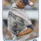 Edinson Volquez 2013 Topps #137 San Diego Padres Baseball Card