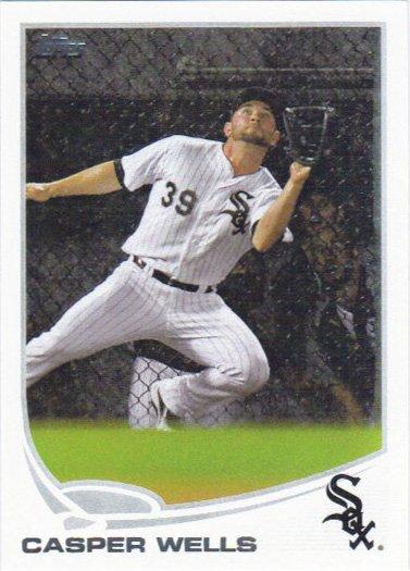 Casper Wells 2013 Topps Update #US247 Chicago White Sox Baseball Card