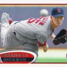 Brandon Dickson 2012 Topps Rookie #559 St. Louis Cardinals Baseball Card