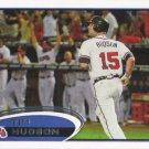 Tim Hudson 2012 Topps #58 Atlanta Braves Baseball Card