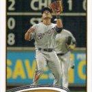 Cesar Izturis 2012 Topps Update #US27 Milwaukee Brewers Baseball Card