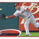 Laynce Nix 2012 Topps Update #US130 Philadelphia Phillies Baseball Card
