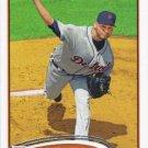 Anibal Sanchez 2012 Topps Update #US86 Detroit Tigers Baseball Card
