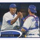 Sergio Santos 2012 Topps Update #US294 Toronto Blue Jays Baseball Card
