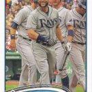 Luke Scott 2012 Topps Update #US239 Tampa Bay Rays Baseball Card