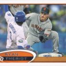Ryan Theriot 2012 Topps Update #316 San Francisco Giants Baseball Card