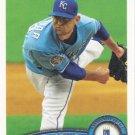 Luke Hochevar 2011 Topps #620 Kansas City Royals Baseball Card