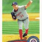 John Lannan 2011 Topps #246 Washington Nationals Baseball Card