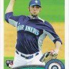 Josh Lueke 2011 Topps Rookie #618 Seattle Mariners Baseball Card