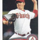 Joe Saunders 2011 Topps #453 Arizona Diamondbacks Baseball Card