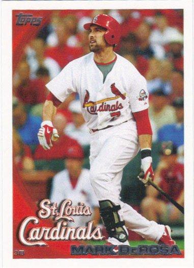 Mark DeRosa 2010 Topps #280 St. Louis Cardinals Baseball Card
