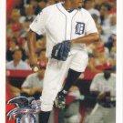 Jose Valverde 2010 Topps Update #US281 Detroit Tigers Baseball Card