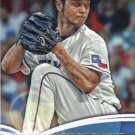 Yu Darvish 2014 Topps 'Future Is Now' #FN-28 Texas Rangers Baseball Card