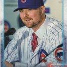 Jon Lester 2015 Topps #406 Chicago Cubs Baseball Card